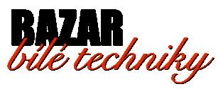 Bazar bílé techniky